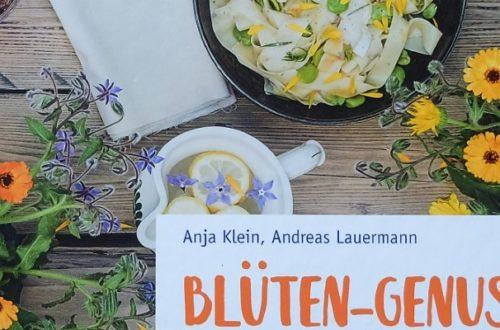 Buchcover von Blüten-Genuss