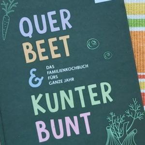 Kochbuch DGE und In-Form - Querbeet und kunterbunt